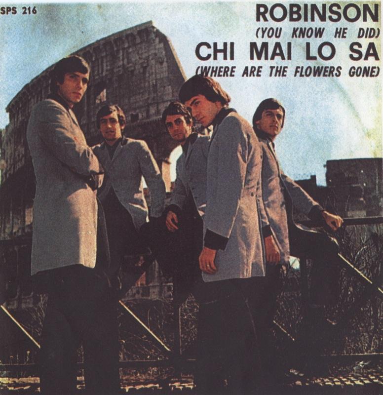 Copertina Chi mai lo sa - Robinson